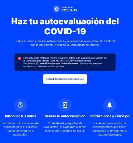 App Madrid Coronavirus