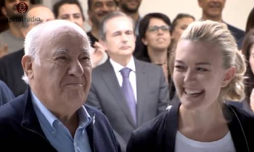 Amancio y Sandra Ortega