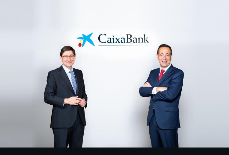 José Ignacio Goirigolzarri y Gonzalo Gortázar fusión CaixaBank y Bankia