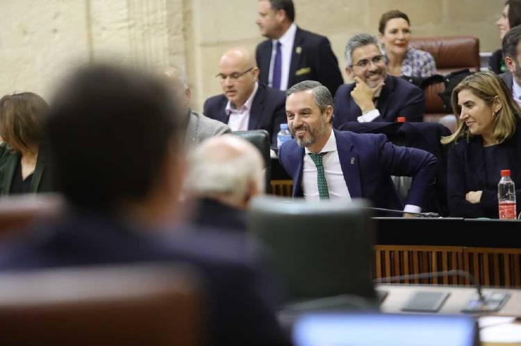 Juan Bravo, consejero de Hacienda de la Junta de Andalucía