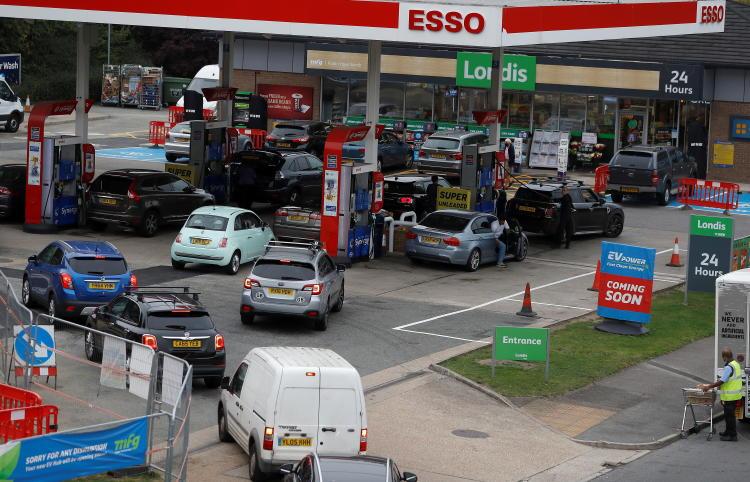 Gasolinera Esso