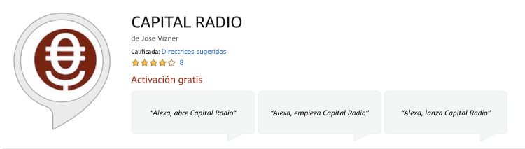 Alexa Capital Radio