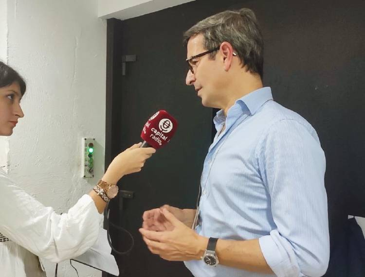 Jorge Paradela, director de Asuntos Corporativos de Heineken Europa