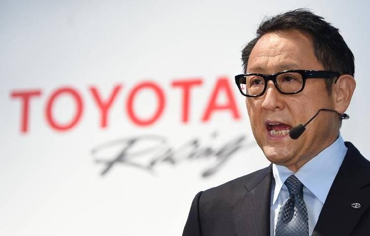 Akio Toyoda, director ejecutivo de Toyota