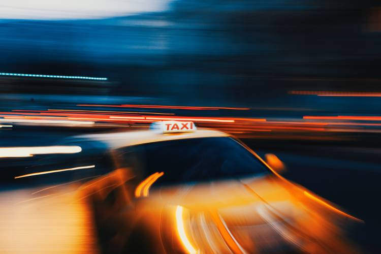 Taxi - Photo by Mike Tsitas on Unsplash