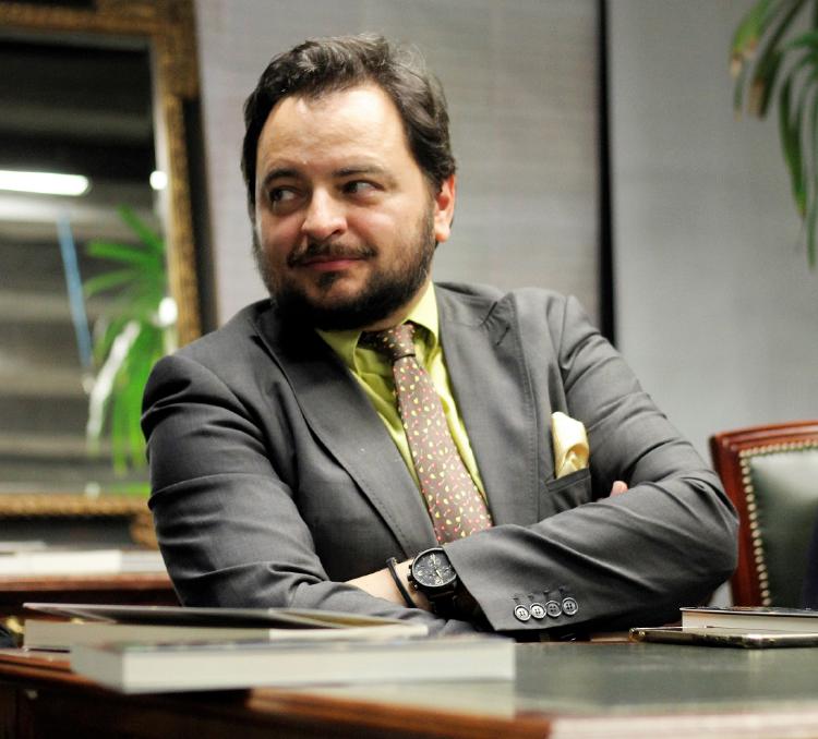 """David Felipe Arranzescritor, periodista y director de """"El Marcapáginas"""" de Capital Radio"""