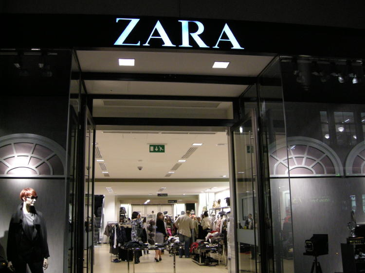 Zara, del grupo Inditex