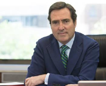 Antonio Garamendi, presidente de la CEOE (Fuente: página web CEOE)