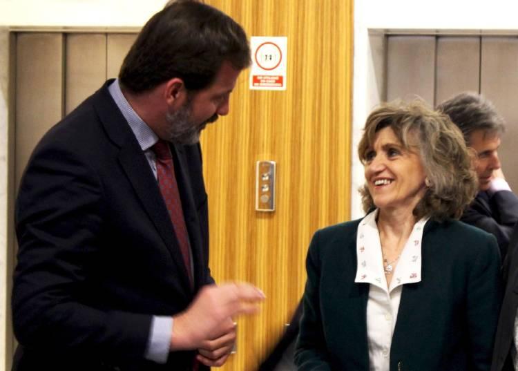 Carlos Rus y María Luisa Carcedo