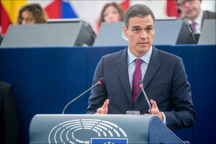 Pedro Sánchez UE