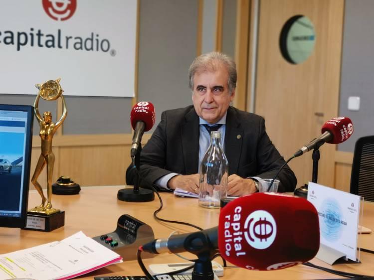 Tomás Sancho, Presidente del Grupo de Trabajo sobre el Agua de la Federación Mundial de Organizaciones de Ingeniería