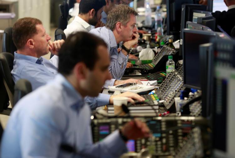 Trader en un Broker de Londres el 24 de junio de 2016 (Fuente: Reuters)