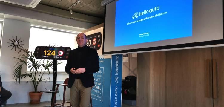 Manuel Santiago, CEO y fundador de Hello Auto