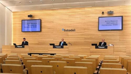 La Junta de Accionistas del Banco Sabadell