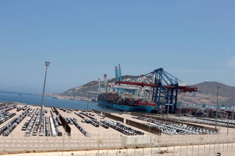 Puerto de Tánger Marruecos